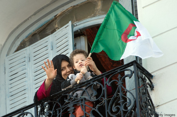 young algerian flag