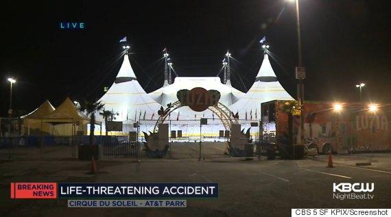cirque du soleil accident