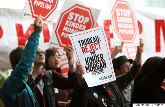 kinder morgan trudeau