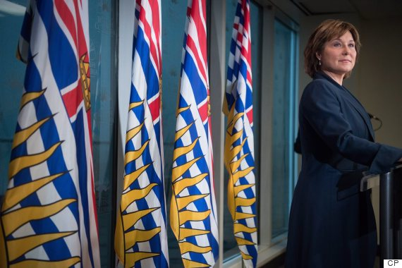 christy clark pipeline