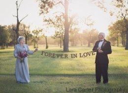 Après 70 ans de mariage, ils s'offrent les photos qu'ils n'ont jamais eues