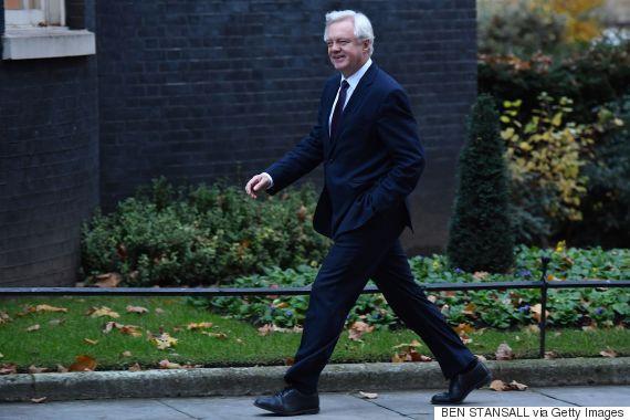 david davis brexit minister
