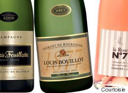 16 champagnes et vins mousseux pour festoyer