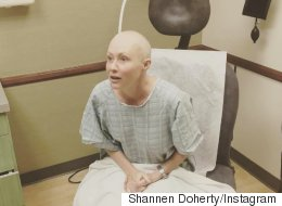 Shannen Doherty's Radiation Treatment Photo Is Heartbreaking
