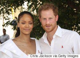 Prince Harry Spends Time With Rihanna In Barbados
