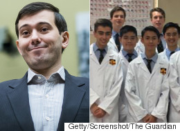 Schoolboys Recreate Drug Price-Hiked By 'Pharma Bro' Martin Shkreli