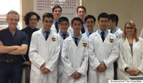 australia students martin shrkeli