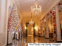 Les décorations de Noël de la famille Obama