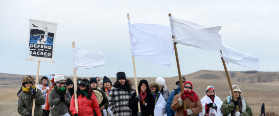 STANDING ROCK PROTESTERS