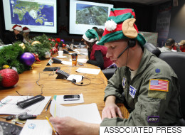 NORAD's Santa Tracker Has Officially Launched