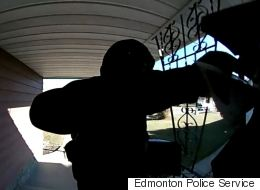 Edmonton Anti-Islam Flyer Suspect Caught On Camera