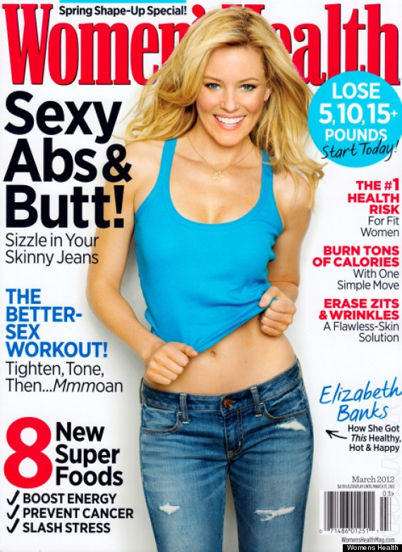 Elizabeth Banks Covers Women's Health, Talks 'Hunger Games ...