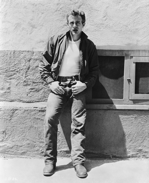 James Dean Rebel Without A Cause Actor On Set 1955