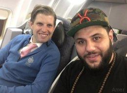 Muslim trifft Trumps Sohn im Flugzeug - was folgt, wird Trump-Wählern nicht gefallen