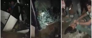 ACCIDENT AUTOCAR SUPPORTERS RAJA