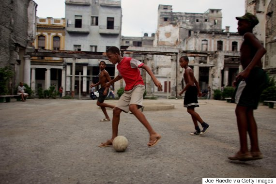 fidel castro soccer