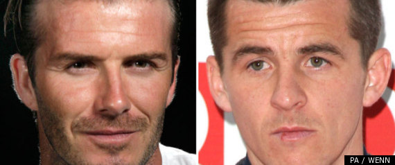 David Beckham Joey Barton