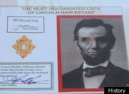 Cajun Pawn Stars' Have A Lock Of Abraham Lincoln's Hair (VIDEO)