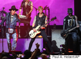 Guns N' Roses en spectacle au parc Jean-Drapeau en août 2017