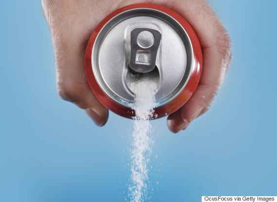 drinking soda