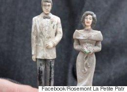 La Ville de Montréal cherche le propriétaire de ces figurines de mariage