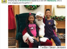 Leave It To Kids To Prove Why A Black Santa Matters