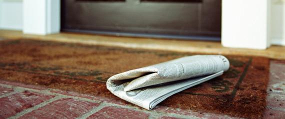 NEWSPAPER PORCH
