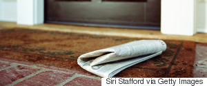 NEWSPAPER PORCH