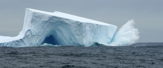 MELTING OF ICE IN ANTARCTICA