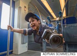 Ce photographe a créé de fabuleux montages de son garçon