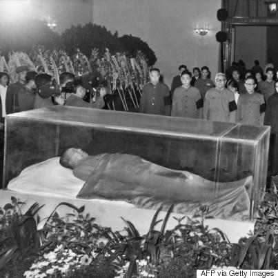 mao zedong corpse
