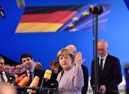 CDU-Krönungsparteitag in Essen: An diesem Ergebnis muss sich Merkel heute messen lassen