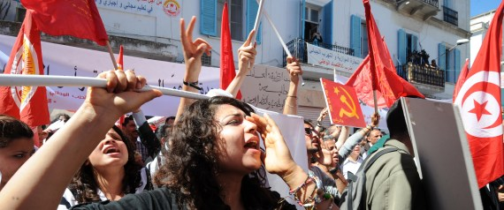 TUNISIA ON STRIKE