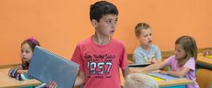 Fluechtlinge Schule Kinder