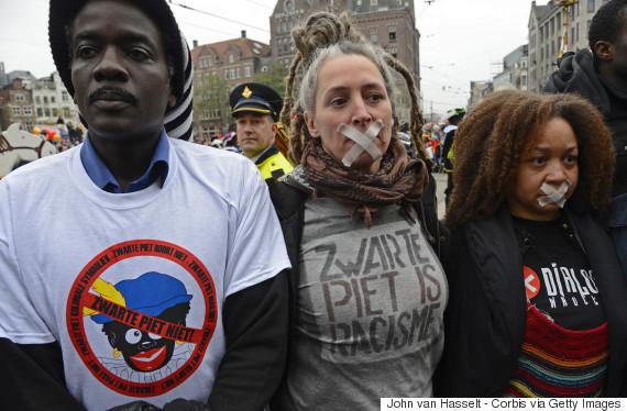 zwarte piet protest