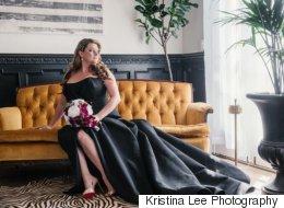 23 robes de mariée noires