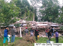 Nearly 100 Dead, Hundreds Injured After Earthquake Hits Indonesia