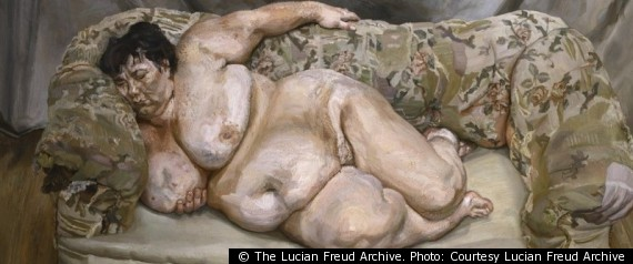 BENEFIT SUPERVISOR SLEEPING BY LUCIAN FREUD