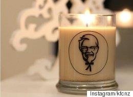 KFC 향초는 당장 치킨을 주문하고 싶게 만든다