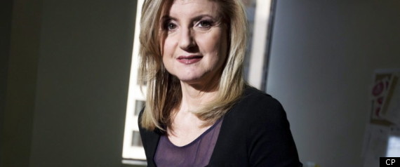 LE HUFFINGTON POST QUEBEC ARIANNA HUFFINGTON