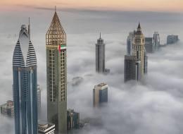 هكذا بدت دبي -أرض الفرص - في فيديو التقطه فزّاع