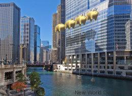 Des architectes ont un projet délirant pour cacher la Trump Tower de Chicago
