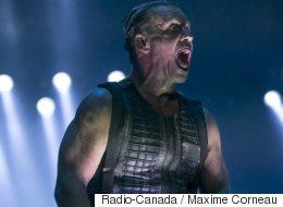 Le groupe métal Rammstein au Rockfest 2017