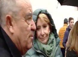 Íñigo Errejón se mofa de este zasca a Aguirre en plena Gran Vía