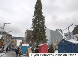 The Internet Can't Stop Hating On Montreal's 'Dopey' Christmas Tree