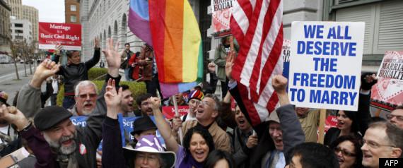 MARIAGE GAY HOMOSEXUEL ETATSUNIS CALIFORNIE