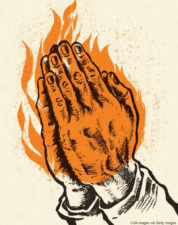 praying illustration