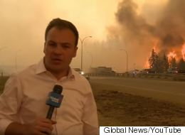 Reporter's Close Call With Fort Mac Fire Makes YouTube Top 10