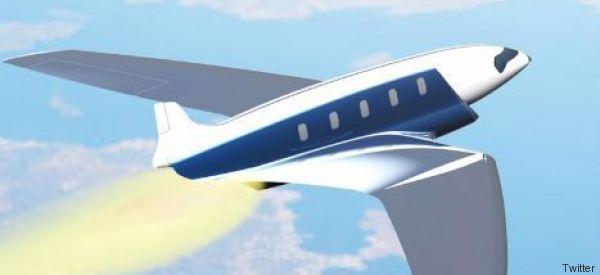 Da Londra a New York in 20 minuti: il nuovo jet