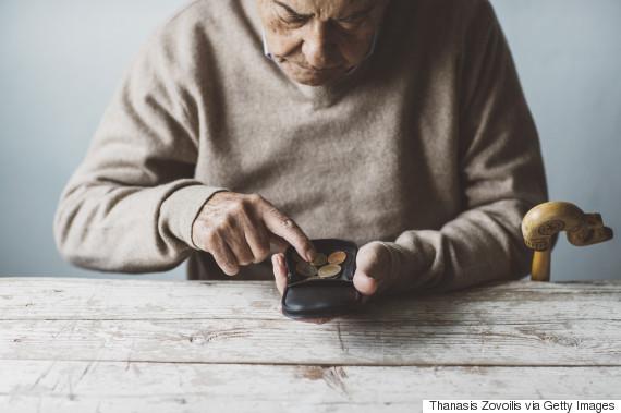 retirement poor